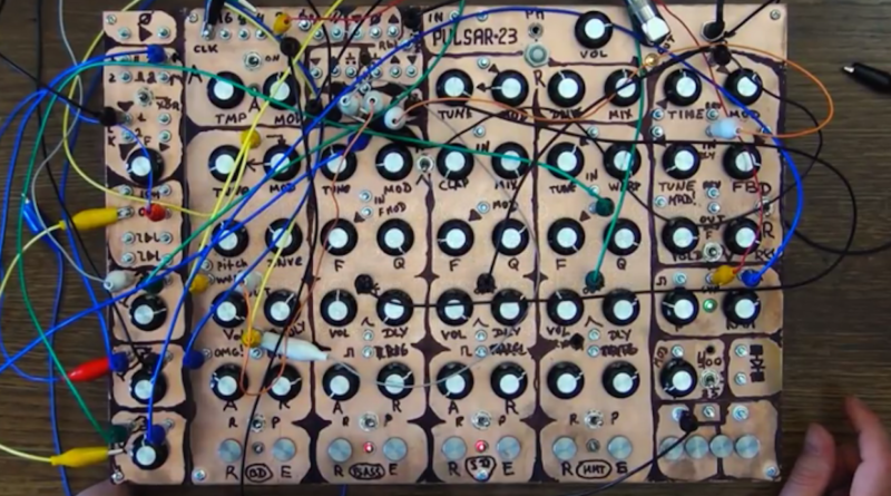 Check out the prototype of Pulsar-23! – Sound Machines